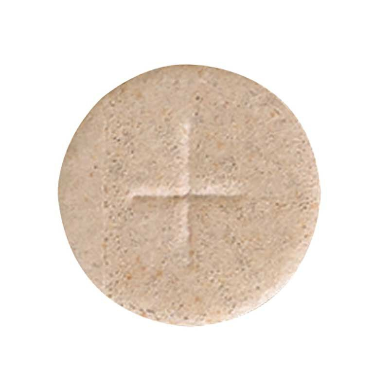 "1-1/8"" Wheat Cross Hosts - 1000/bx"
