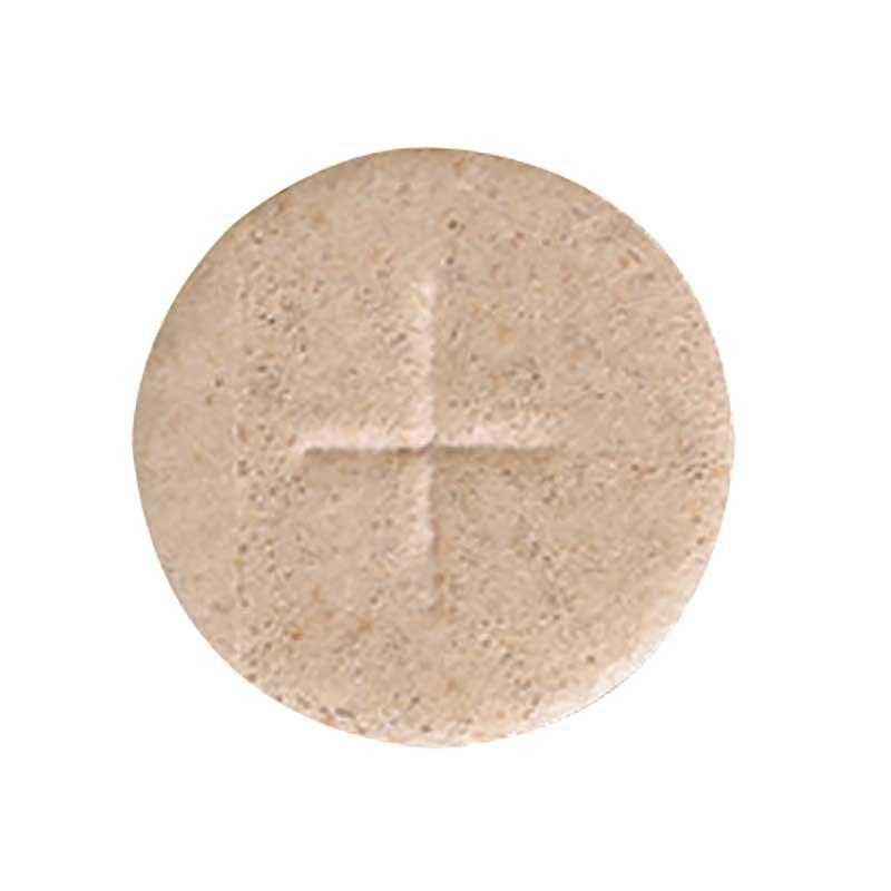 "1-1/8"" Wheat Cross Hosts - 1000/cnt"