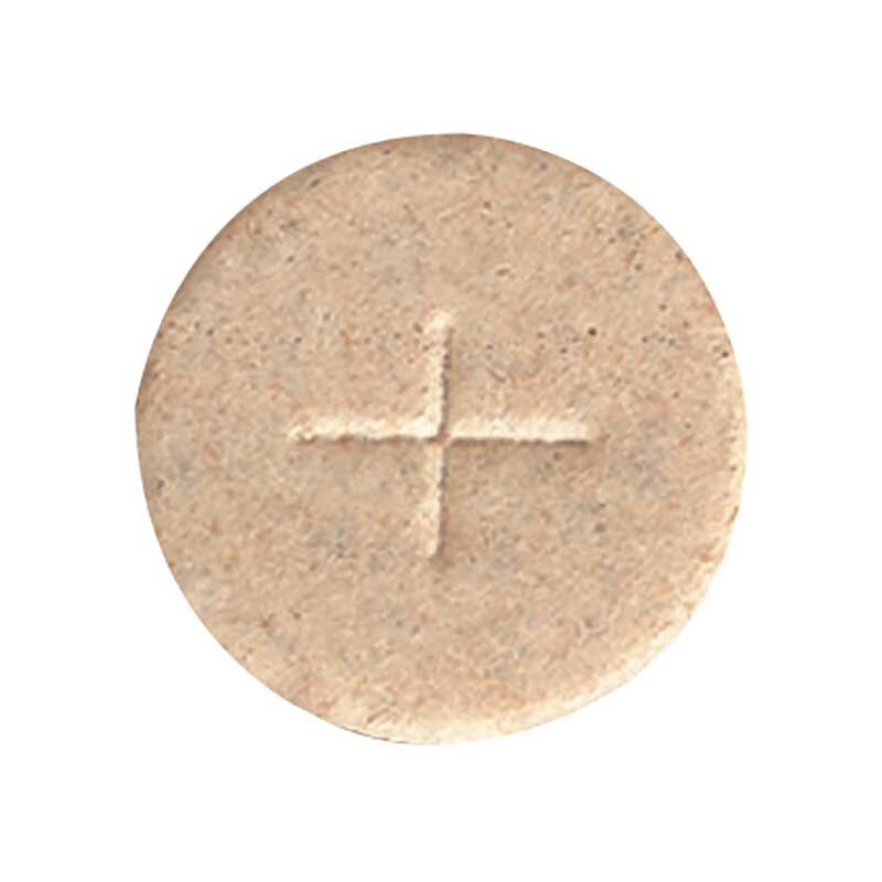 "1-3/8"" Wheat Cross Hosts - 1000/bx"