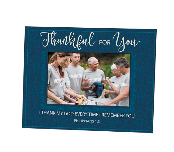 Thankful for You Photo Frame
