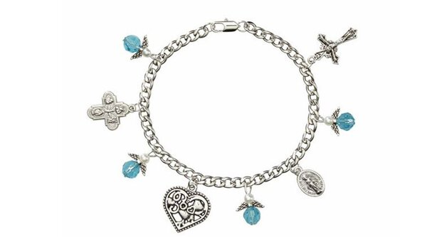 Guardian Angel Charm Bracelet