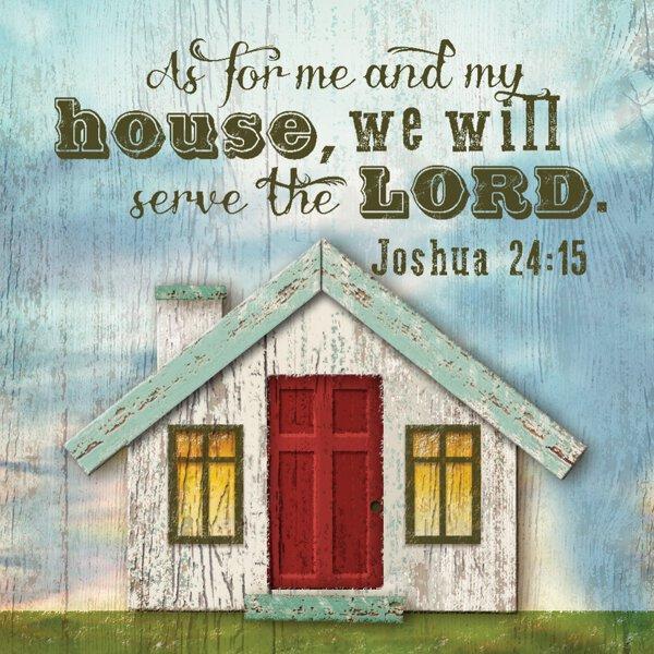 Nightlight Insert - House Joshua 24:15