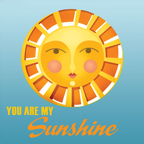 4x4 Creative Unframed Print - Sunshine