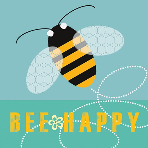 Bee Happy Nightlight Insert