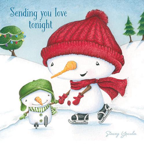 Sending You Love Tonight Nightlight Insert