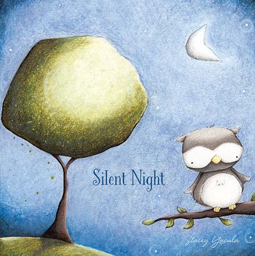 Silent Night Nightlight Insert