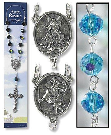 Aqua Auto Rosary