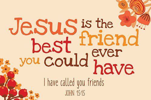 Pass It On - Jesus Is The Best Friend