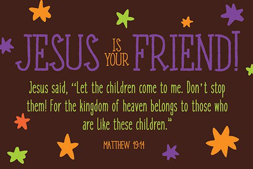Pass It On - Jesus Is Your Friend