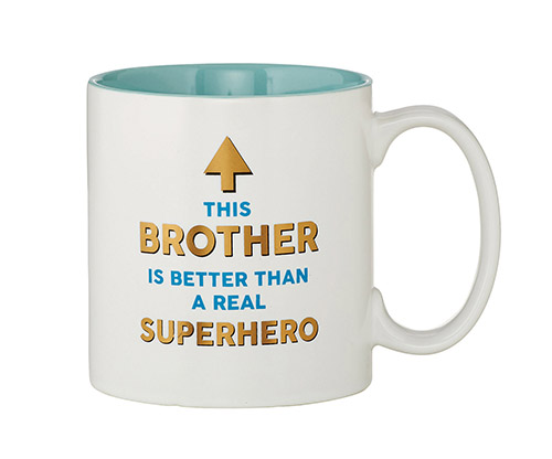 Superhero Brother Mug
