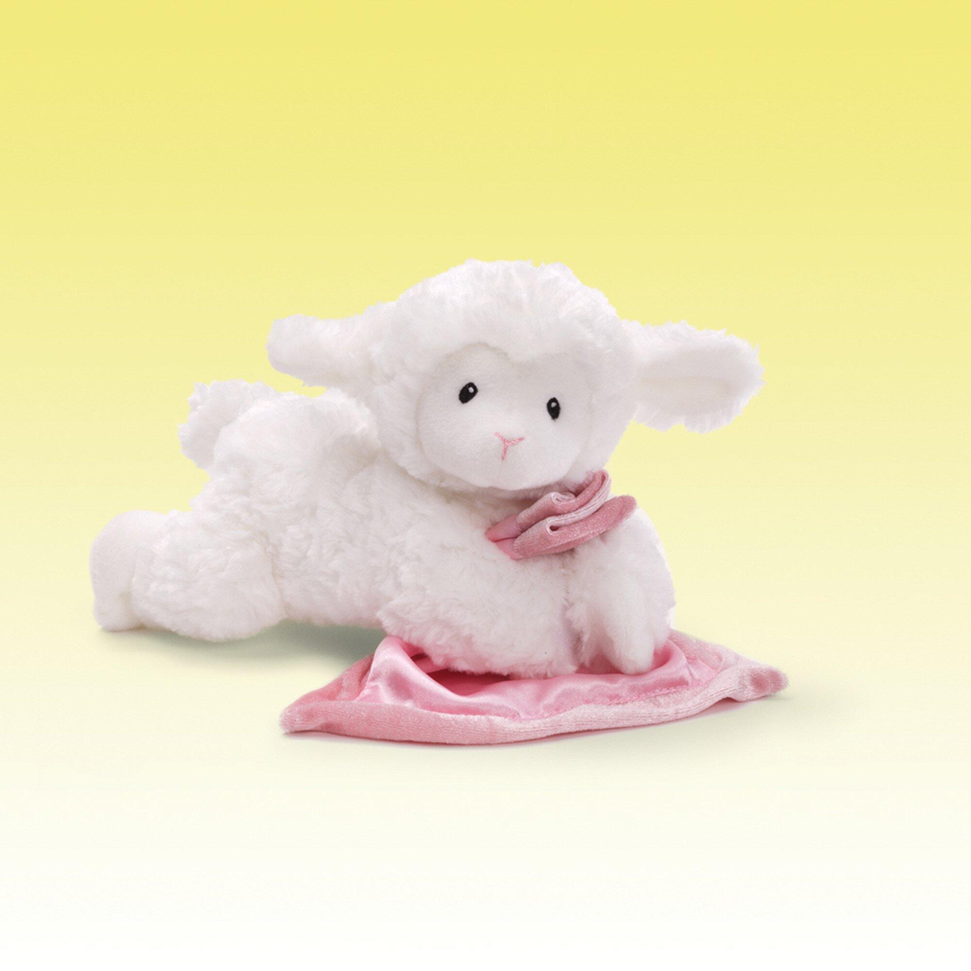 Pink Lena Lamb - for Baby Girls