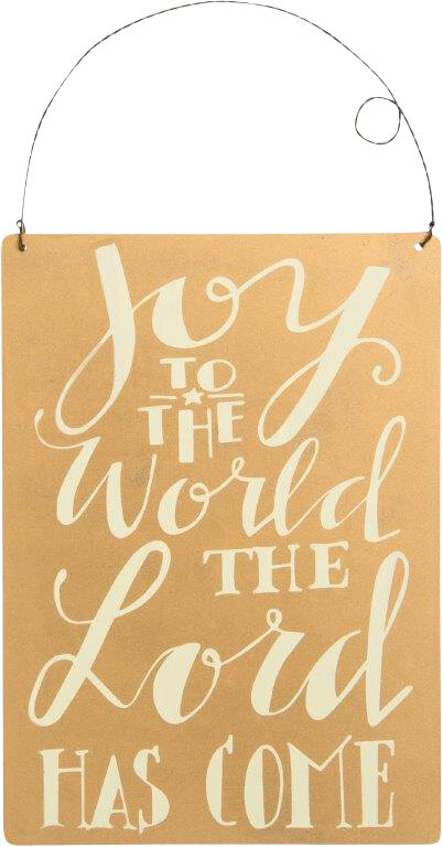 Joy to the World - Wall Hanging