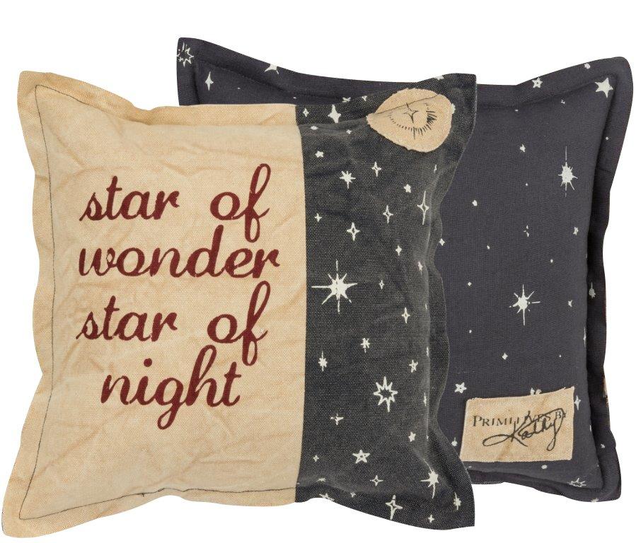 Star of Wonder - Christmas Throw Pillow