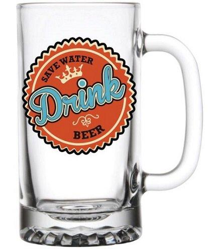 Beer Mug Save Water