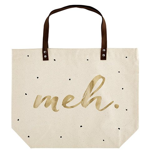 Canvas Tote - Meh