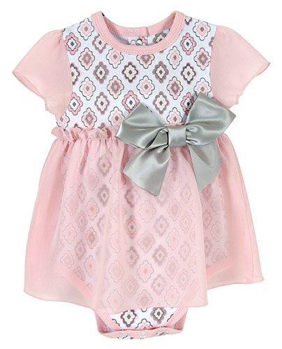 3-6mo Diamond Flower Dress