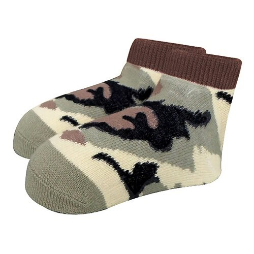 Camo Socks 0-6 mo