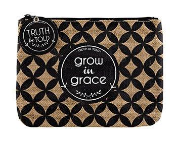 Grow In Grace- Zipper Pouch