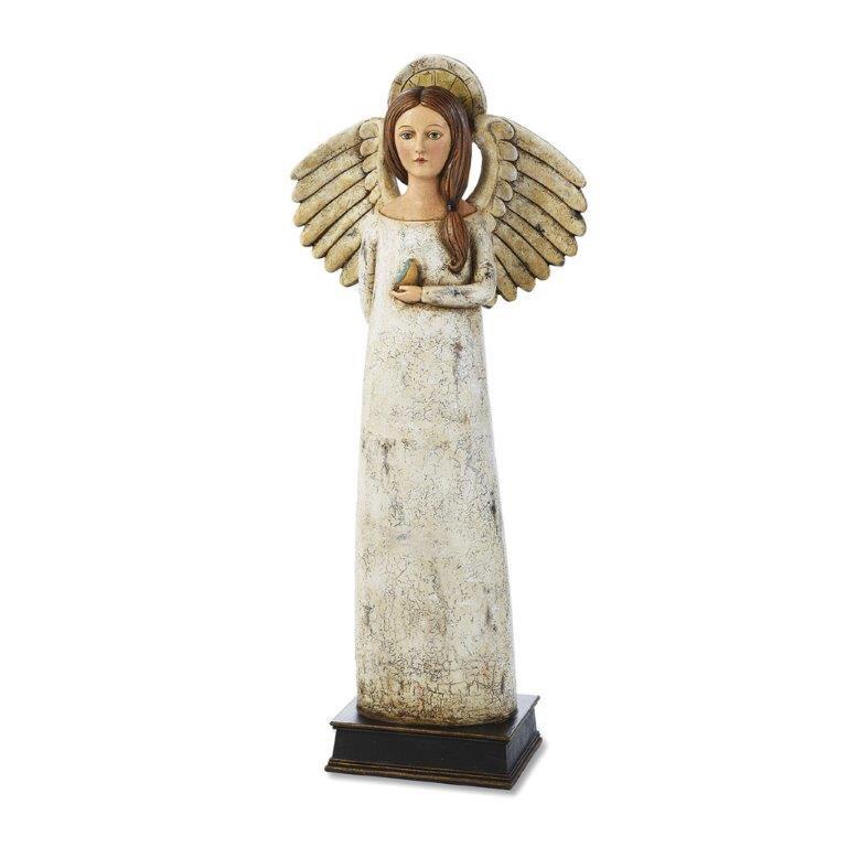 Rustic Angel Figurine