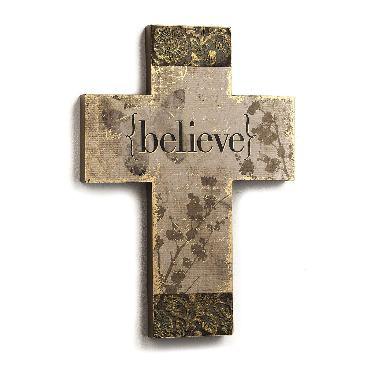 Believe - Wall Cross for the Home