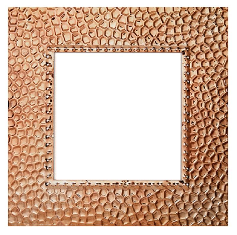 Copper Metal Photo Frame