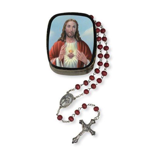 Divine Mercy Rose Petal Rosary
