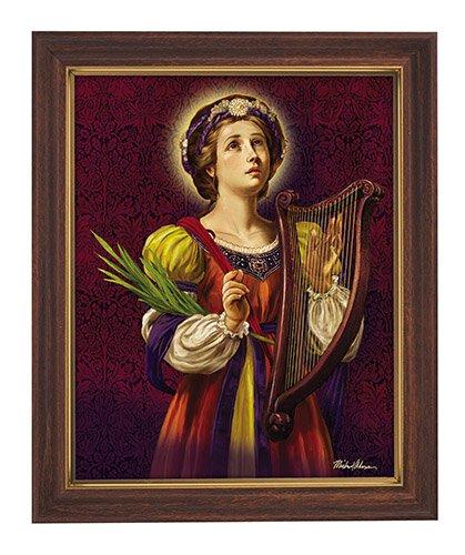 Saint Cecilia Framed Print