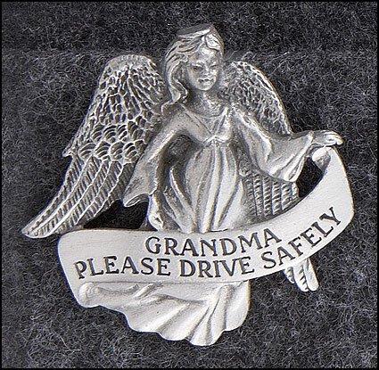 Grandma Angel Visor Clip