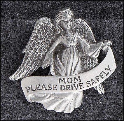 Mom Angel Visor Clip