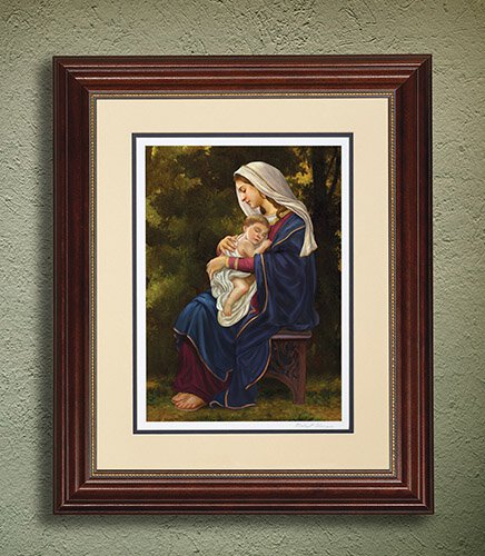 Madonna And Child Limited Edition Giclée Framed Print