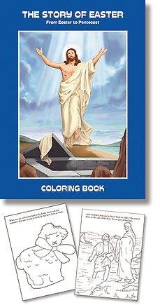 The Story Of Easter - Aquinas Kids Coloring Book