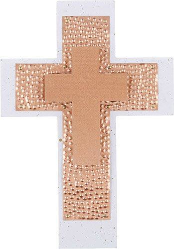 Rose Gold Wall Cross