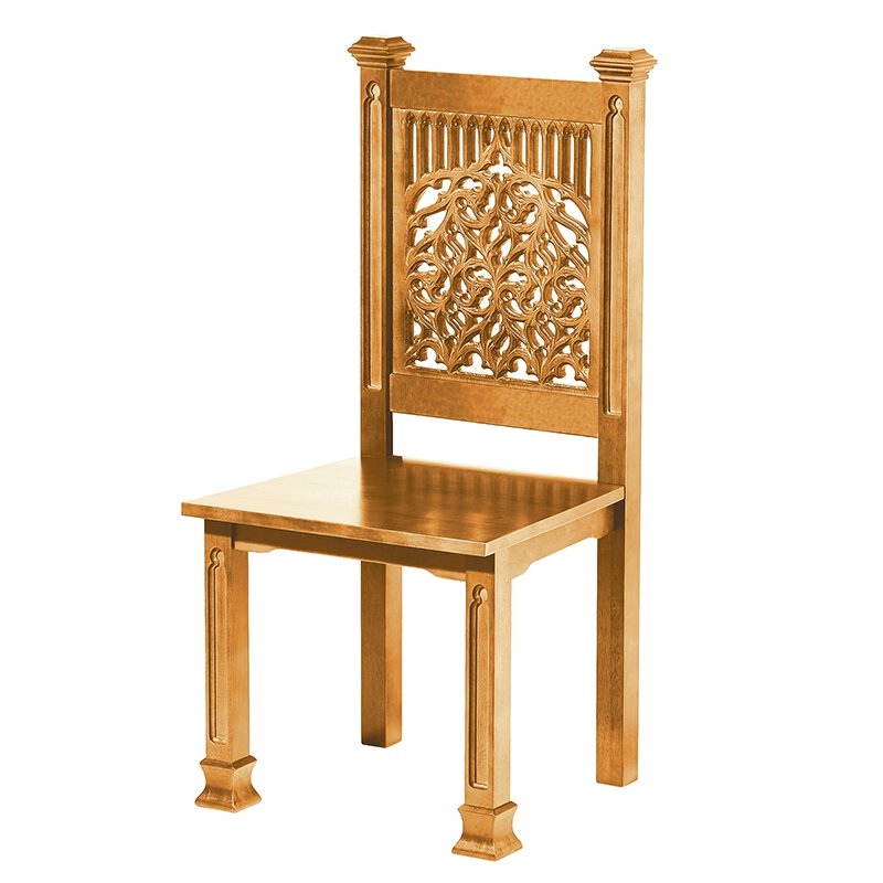 Tree of Life Side Chair - Medium Oak