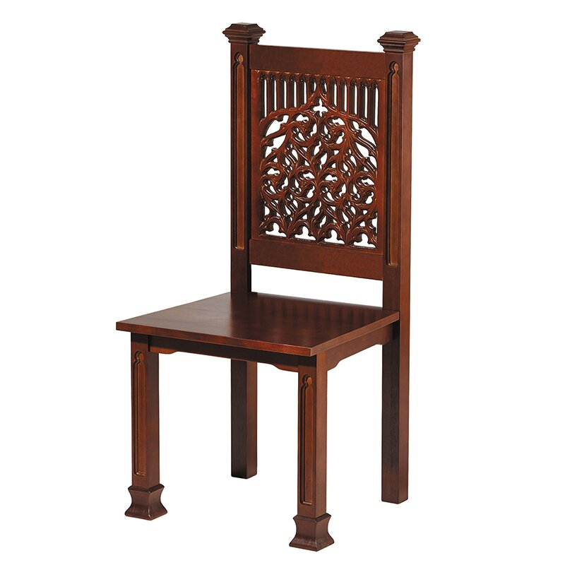 Tree of Life Collection Side Chair - Walnut