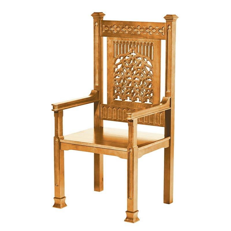 Tree of Life Celebrant Chair - Medium Oak