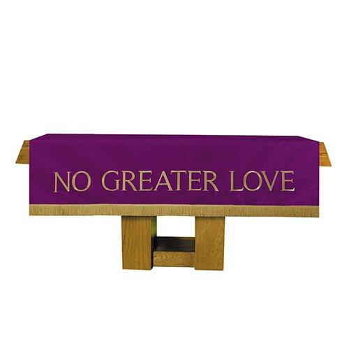 Jacquard Purple/Green Reversible Altar Frontal