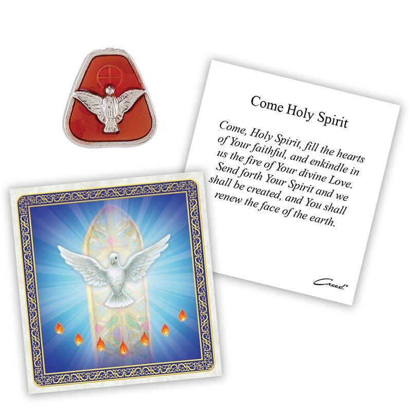 Confirmation Dove Pocket Token - 12/pk