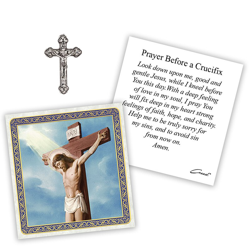 Crucifix Pocket Token - 12/pk