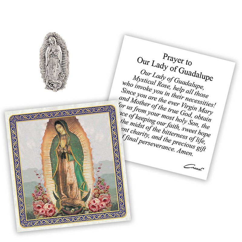 Our Lady of Guadalupe Pocket Token - 12/pk
