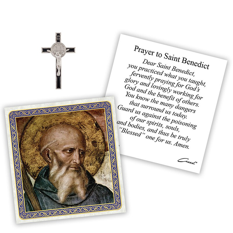 St. Benedict Pocket Token - 12/pk
