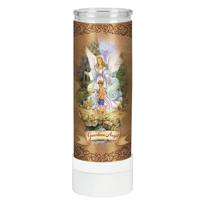 Guardian Angel Battery Operated Electric Candle – 4/pk