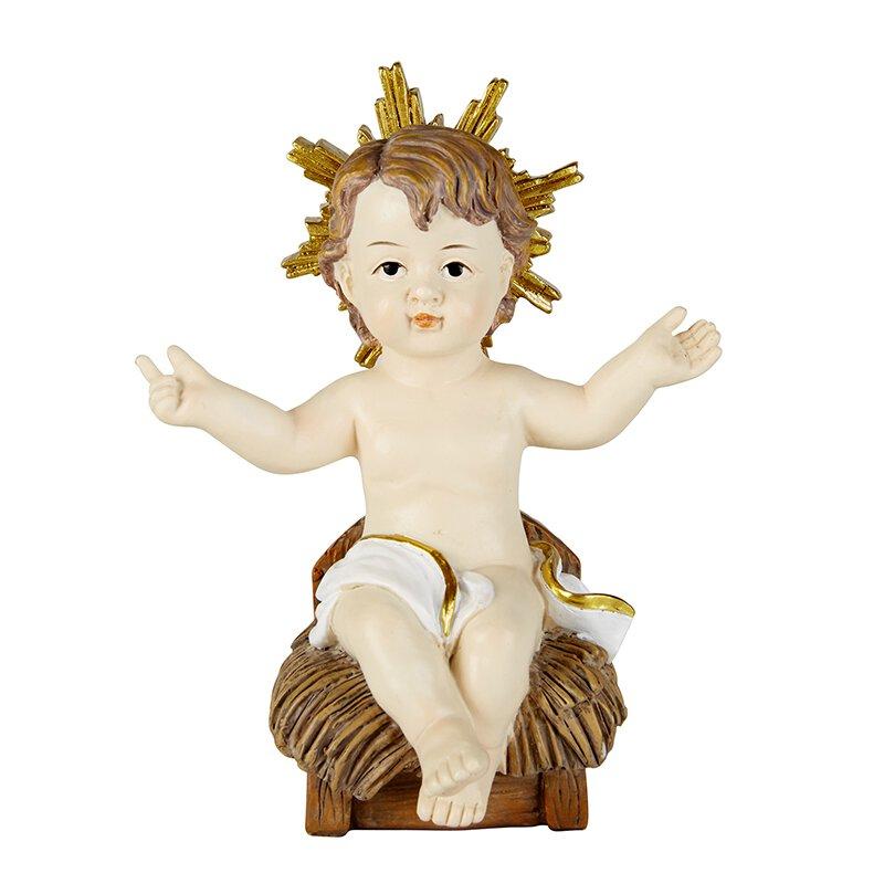 Infant Jesus in Manger - 3/pk