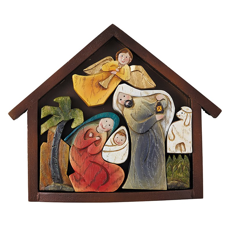 8-pc Magnetized Stable Nativity Set