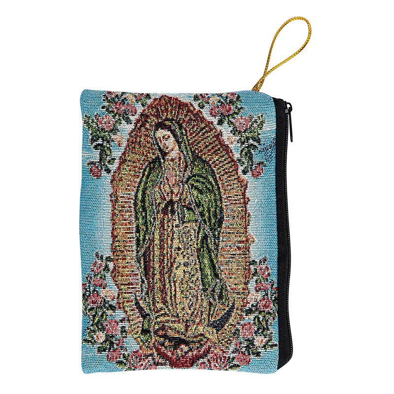 Our Lady of Guadalupe Rosary Bag - 6/pk