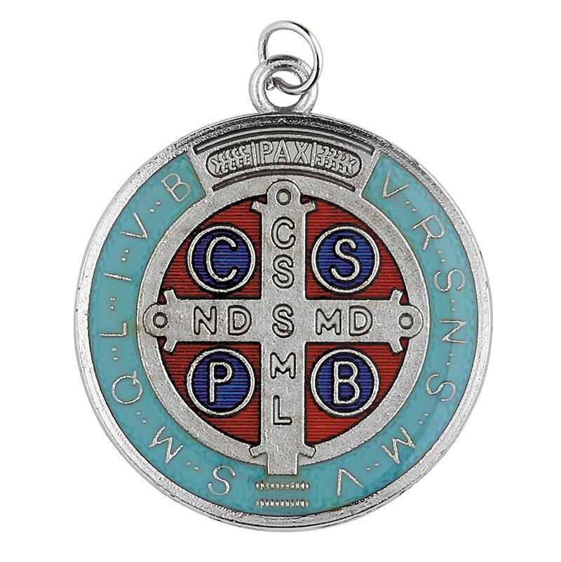 St. Benedict Epoxy Medal - 18/pk