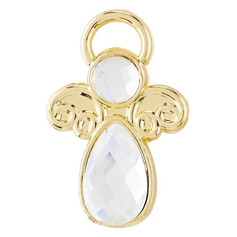 Crystal Angel Pin - 25/pk
