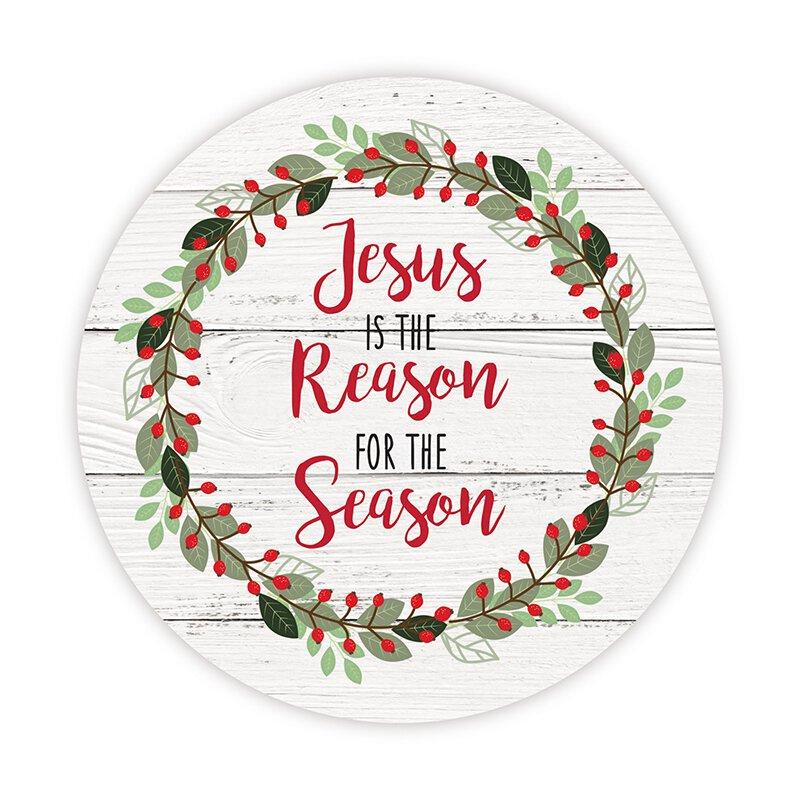 Jesus is the Reason Auto Magnet - 24/pk