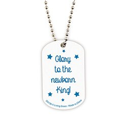 One Starry Night Dog Tag Necklace - 18/pk