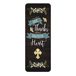 Grateful Heart Lapel Pin with Bookmark - 12/pk