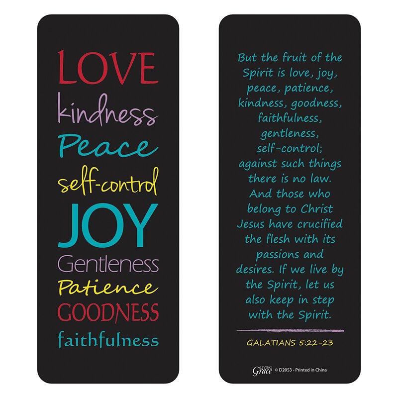 Fruit of the Spirit Jumbo Bookmark - 36/pk